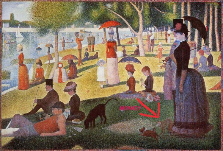 Monkey Seurat Pointer