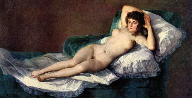 The naked Maja by Goya