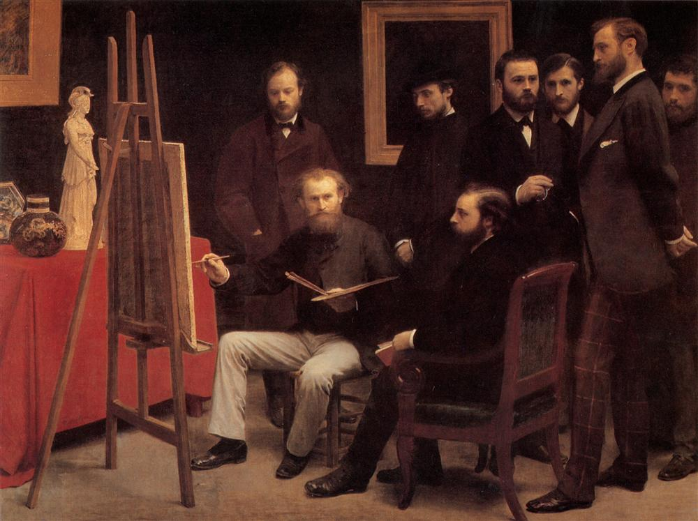a-studio-in-the-batignolles-homage-to-manet-1870