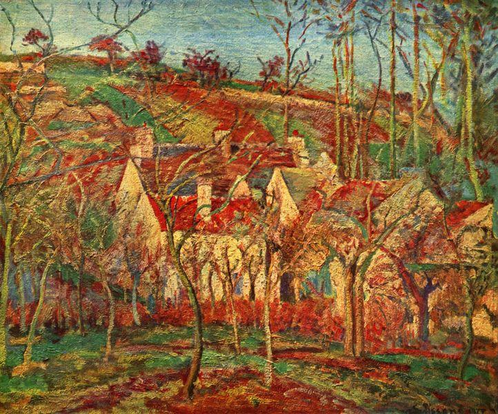 pissarro-red-roofs-1877
