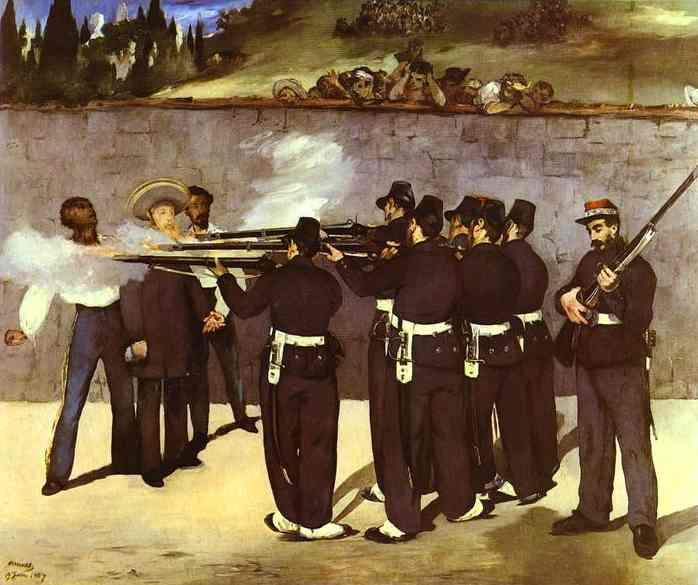 the-execution-of-the-emperor-maximilian-of-mexico-1868_Manet