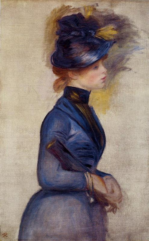 young-woman-in-bright-blue-at-the-conservatory-1877