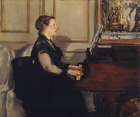 Edouard_Manet_083Madame Manet at the Piano 1868